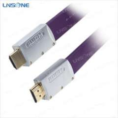 High speed luxury Metal shell hdmi cable 1.4V hdmi cable