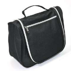 Fashion Travel Essentials large capacity multi-function wash bag / cosmetic bag - black