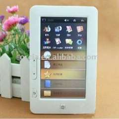5 inch touch E-book reader