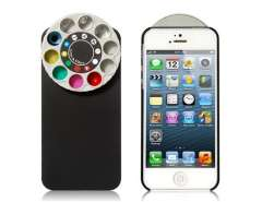 Special Effect Filters Wheel & Protective Case for iPhone 5 (Black)
