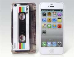 Cassette Pattern IMD Protective Case for iPhone 5