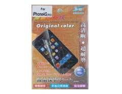 2 in 1 Professional Frosted LCD Screen Protector + Body Protective Film Kit for iPhone 4G (Transparent)
