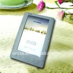 7 inch E-book Reader with touch sreen