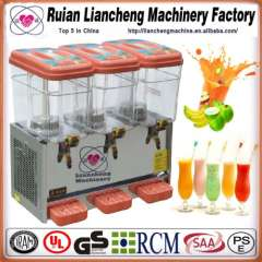 beverage vending machine and beverage filling production machine