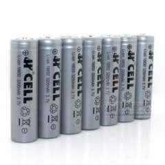 18650 lithium battery / rechargeable 18650 / 3200mAH | Flashlight batteries 50g