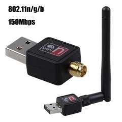 802.11n\g\b 150Mbps Mini USB WiFi Wireless Adapter Network LAN Card w\Antenna wi-fi Router