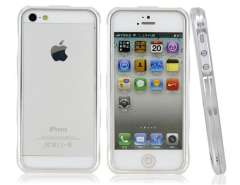 Ultra-Thin Design Metal Protective Frame for iPhone 5 (Silver)