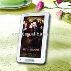 China 7 inch touch panel ebook reader (ORB-T704)