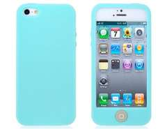 Open-face Silicone Case for iPhone 5 (Green)