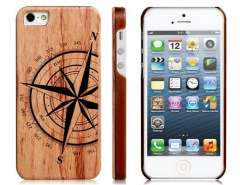 Joyroom Wooden Compass Ultra Thin Protective Case for iPhone 5