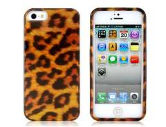 Leopard Skin PC Protective Case for iPhone 5