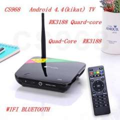 CS968 Android TV Box Quad Core 1080P HDMI XBMC 2G RAM 8G ROM RK3188 Receiver HDMI media player With remote control