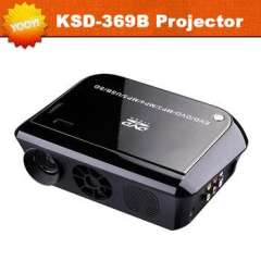 New Arrival LED DVD Projector Home Cinema Theater 100Lumens Support DVD\HDMI\AV\VGA\USB\SD 1080P Proyector 640x480