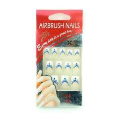 Nail patch | false nails | Patch | Blue Bubble