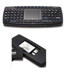 KB-168 US Qwerty RF2.4GHz Wireless Mini Keyboard with Touch Pad New in Box