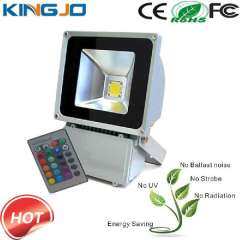 High Brightness 80W DMX RGB Outdoor Led Flood Light
