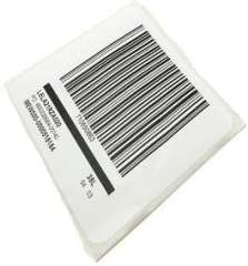 customized paper barcode sticker from factory direct