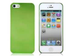 Mirrored Titanium Protective Case for iPhone 5 (Green)