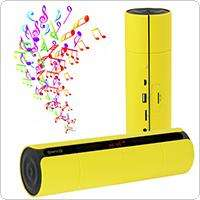Wholesale Portable Bluetooth 3.0 Cylinder Appearance BoomBox NFC Speaker