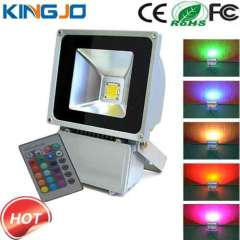 China Manufacturer 80W rgb led outdoor flood light