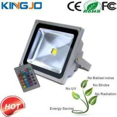 IP65 Waterproof 30W color changing flood light led rgb
