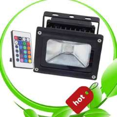 Hot Selling Outdoor IP65 Remote Control 10W Rgb Led Flood Light