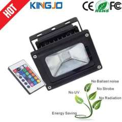 Outdoor 10W Waterproof RGB led ip65 floodlight