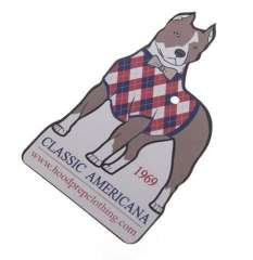 glossy lamination hang tags for apparel
