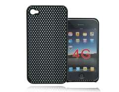 Mesh Style Plastic Back Skin Case Cover for Iphone 4G