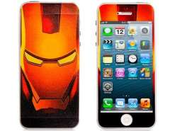 Robot Print Front & Rear Skin Sticker for iPhone 5