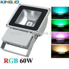 bridgelux chip IP65 outdoor 60w led rgb flood light