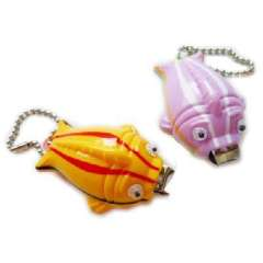 Lottery cartoon fish stand nail clippers | nail clippers | nail clippers | striped color fish | Color Random
