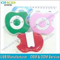 mini cute mp3 player TF card mp3 payer with speaker