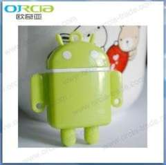 2012 new cute mini cartoon android robot mp3 player