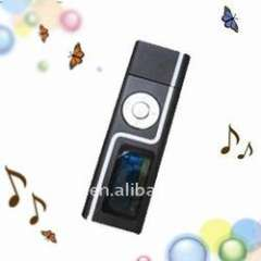 fashion Portable MP3 player with USB stick