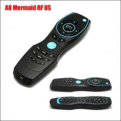 Wholesale A8 Mermaid Air Mouse Mini Wireless Keyboard IR Learning