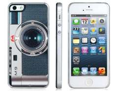 Slider M9 Camera Print Protective Case for iPhone 5