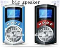 children mp3 player larger big speaker mp3 digital player with LCD screen