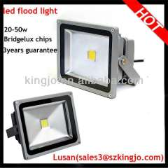 20-50W Brigdleux chips waterproof outdoor led flood light