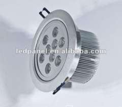 Round ceiling&recessed install 9w LED ceiling light