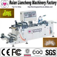 Plastic bag making machine and manual non woven bag making machine