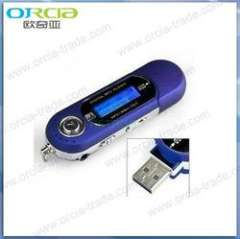 hot sell USB FM mp3 player with AAA battery