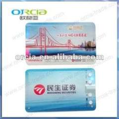 good promotion gift mp3 player credit card mp3 player