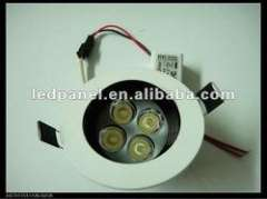 High power 4W LED downlight, 4x1W recessed round down light, CE&ROHS