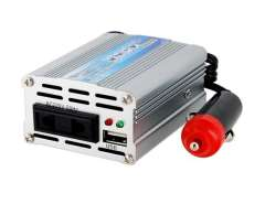 100W DC12V to AC 220V Mobile Power Inverter (Silver)