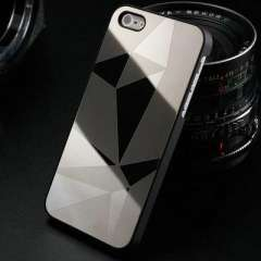 Mirror Stylish Aluminum Hard Phone Case for iphone 5 5S 5G Luxury back Cover for iphone5 Bling Aluminium Metal 2013 New Arrival