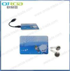 good quality business card mp3 player 2gb 4gb