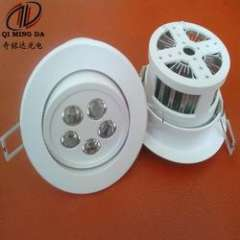 Around embedded 5W LED ceiling downlight