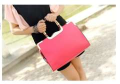 Free shipping 2013 women's handbag brief women's handbag candy color sweet ol women's messenger banquet women's handbag