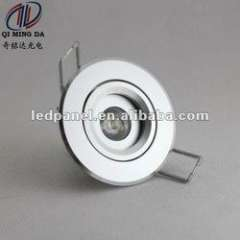Energe saving 1W IP53 6063 Aviation aluminum LED ceiling light